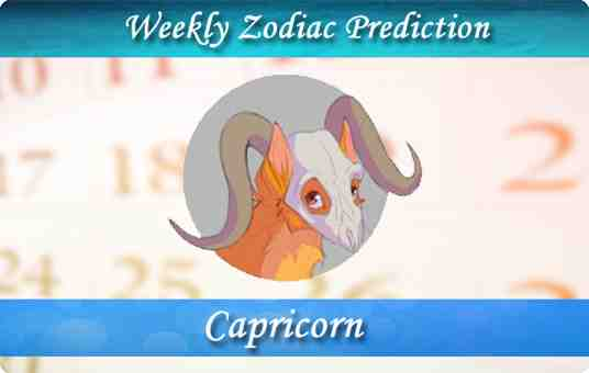 capricorn weekly horoscope forecast thumb
